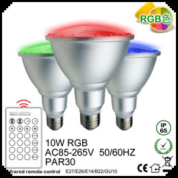 PAR30 LED Remote Lamps