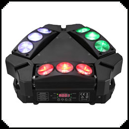 Three Side Moving Head Light